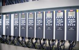 Danfoss VLT Drives Row