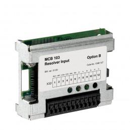 Resolver input MCB 103