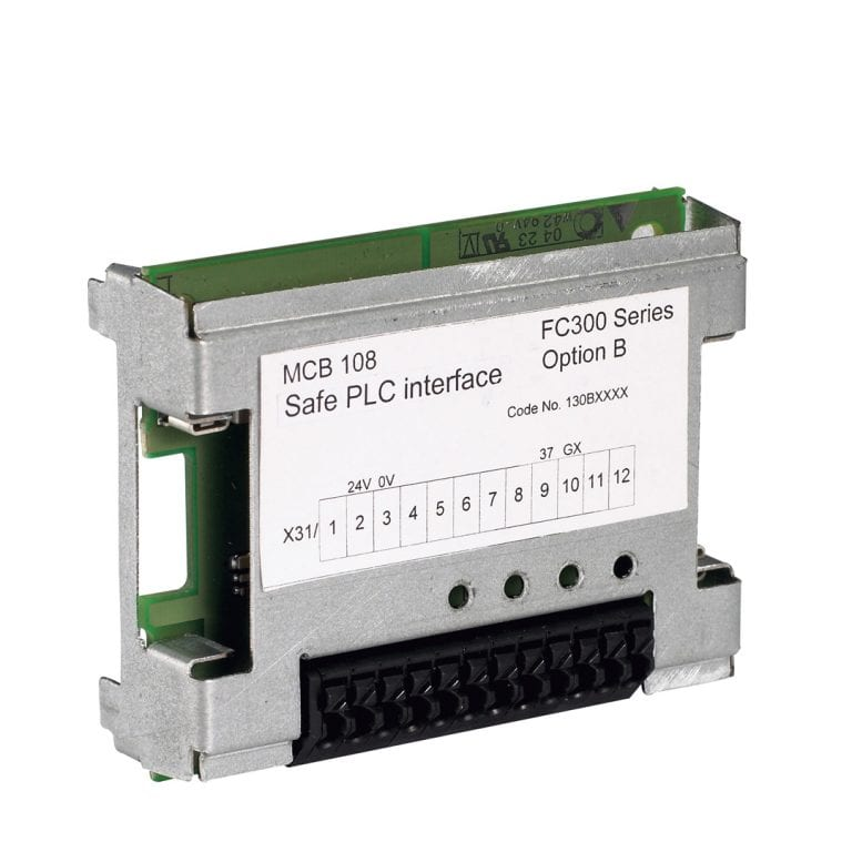 Safe PLC IO MCB 108